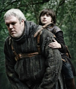 In the Game of Thrones, Hodor is a loyal and devoted Green Man figure.