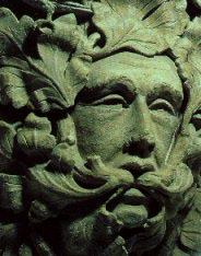 Our Green Man archetype is usually hidden within our known, safe structures - such as our churches and other formal belief systems.